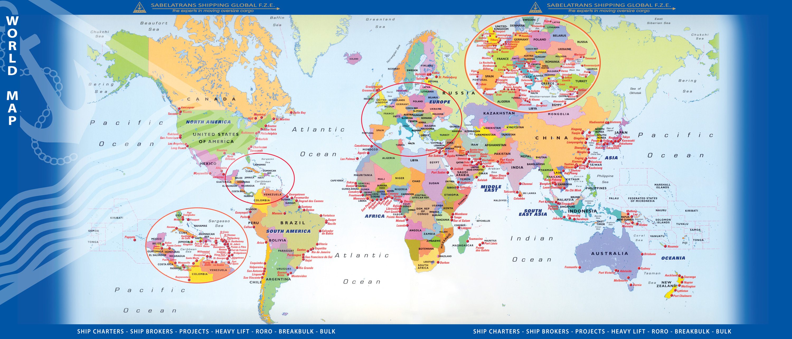 Welcome to sabelatrans shipping global fze world atlas map gumiabroncs Images