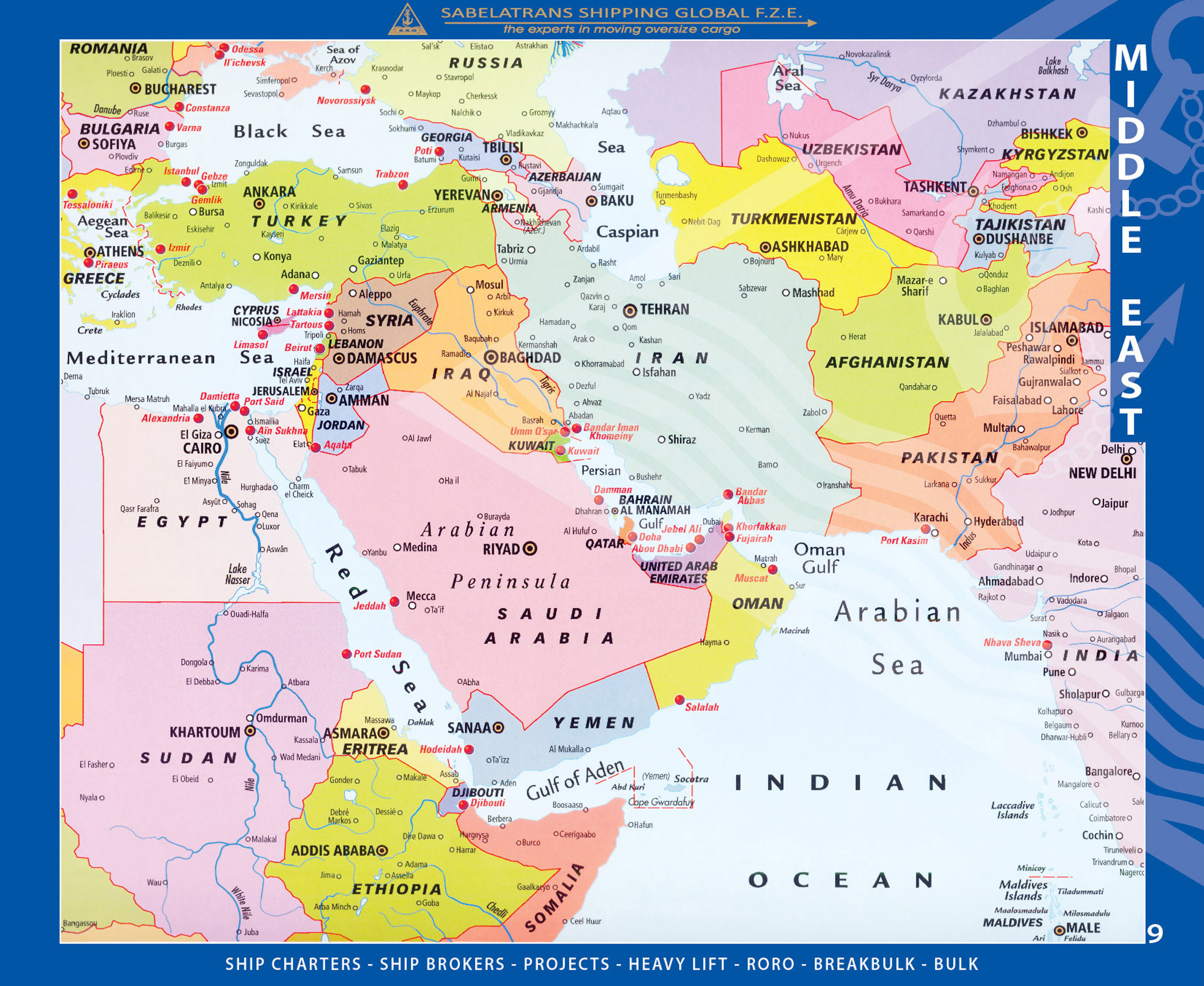 Welcome to sabelatrans shipping global fze world atlas map gumiabroncs Choice Image
